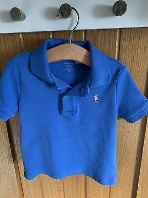 ralf lauren polo shirts Boys Blue 24 Months