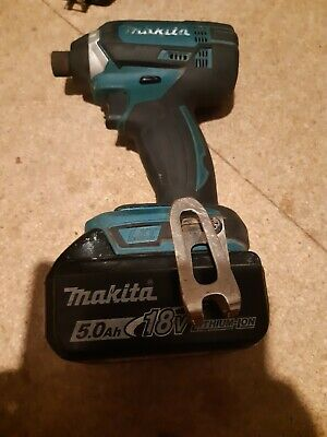 Makita dtd152 Impact Driver+ 5.0ah battery