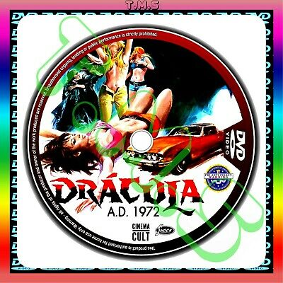 Dracula A.D. 1972 Horror Classic Christopher- Lee Peter Cushing