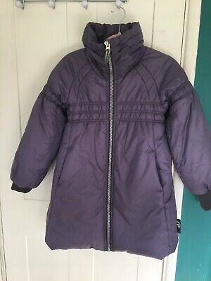 Girls  Lilac Winter Coat Age 12 . Pre-Loved