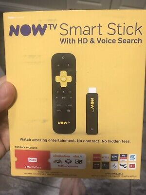 now tv smart stick with hd voice search