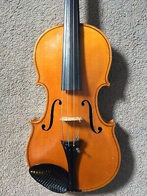 German Violin with Label