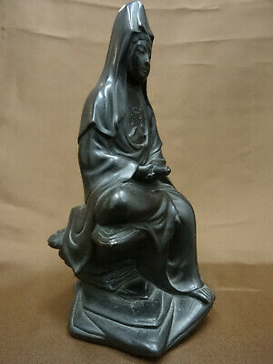 antike Bronze Statue - Antique Bronze Figure of Guanyin - Chinese or Japanese