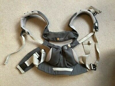 Ergobaby 360 4 positions cool air mesh in carbon grey (EXCELLENT CONDITION)