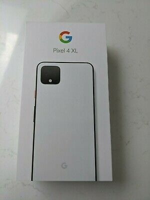 Brand New In Box - Google Pixel 4 XL - 64GB - Clearly White (Unlocked)