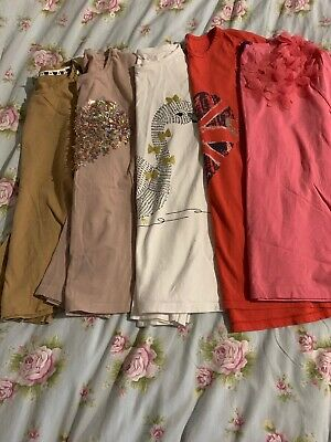 Bundle Of Girls Tops 10-12 Year,next,zara, Nutmeg, M&S
