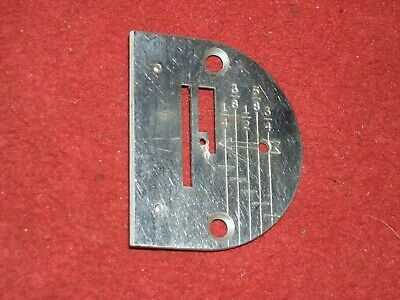 Singer Graduated Needle Plate 170098 fits Singer 301 or 221 Featherweight