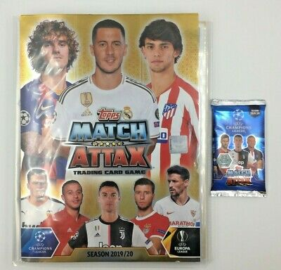Champions Match Attax - 1 Colección Completa Complete Collection - Topps Cards