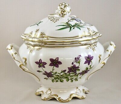 Spode China Stafford Flowers England Soup Tureen & Cover Y8519 1St Af