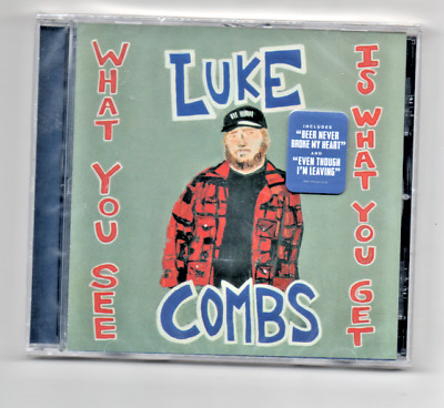 Luke Combs What You See is What You Get 2019 CD Beer Never Broke My Heart
