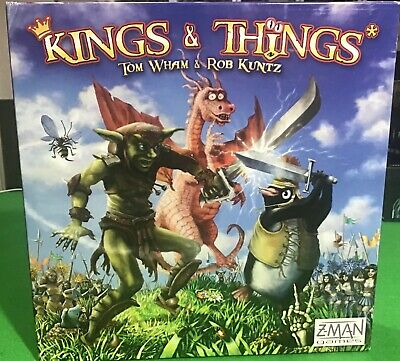 Kings and Things board game - zman games