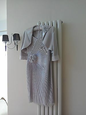 Mother of the bride dress and bolero size 12