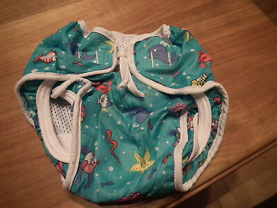 Baby Waterproof Reusable Nappy Soft Washable Covers Cloth Diapers Pant  (338)