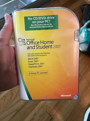 Microsoft Office Home and Student 2007 GENUINE 79G-00007