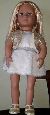 Beautiful Our Generation 18in Holiday Hope doll