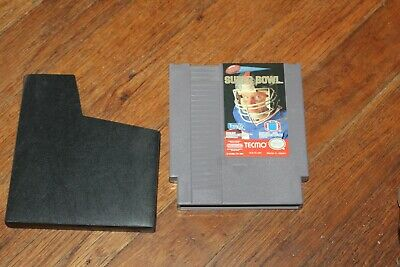 Tecmo Super Bowl (Nintendo Entertainment System NES) Cart Only