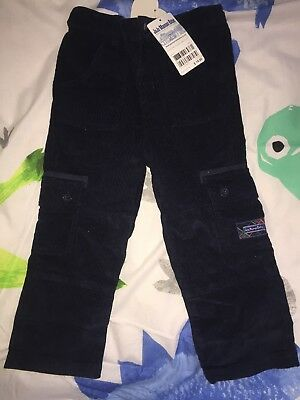 NWT Jojo Maman Bebe Cord Trousers 3 to 4 Years