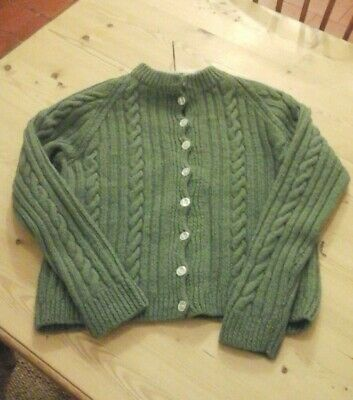 vintage hand knitted cardigan