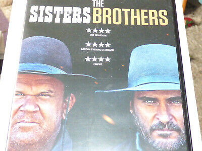 THE SISTERS BROTHERS DVD Joaquin Phoenix