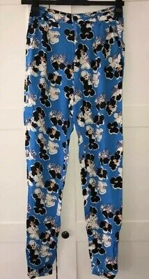 Size 6 RIVER ISLAND Floral High Waist Trousers