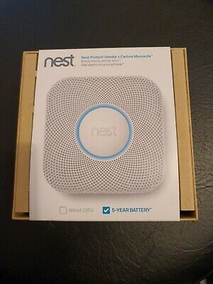Nest Protect Smoke + Carbon Monoxide Alarm (5 year Battery)