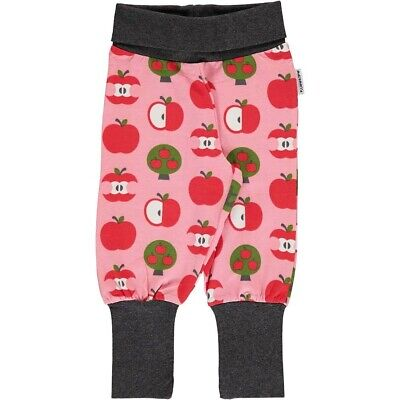 NEW WITH TAGS Maxomorra Red Apple Pants/Trousers Organic Cotton 3-4 yrs 98/104cm