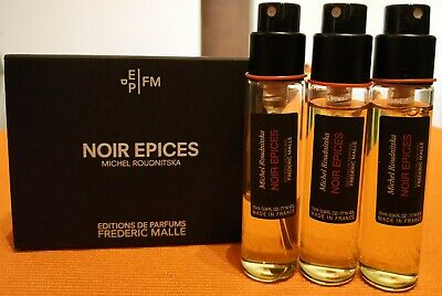 """Frederic Malle Noir Epices 3x10ml (Discontinued format) """"FREE SHIPPING"""""""