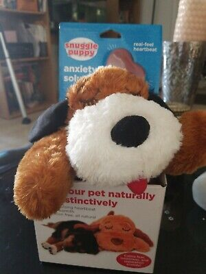 Snuggle Puppy Behavioral Aid Toy Anxiety Solution Real Heartbeat