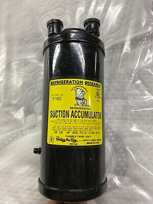 """Refrigeration research Suction accumulator 5/8"""" Line Size Model 3702"""
