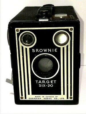 Brownie Target Six-20 Made in Canada by Canadian Kodak Co., LTD