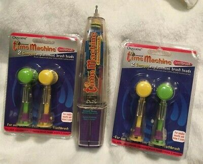 Automatic Toothbrush Kids 60 Second Time Machine Oralgiene with 4 Brushes