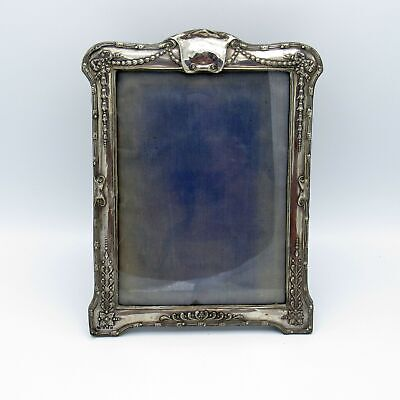 Antique English Sterling Silver Victorian Picture Photo Frame, NR