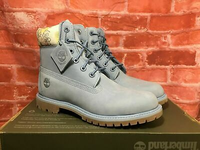 WOMENS TIMBERLAND 6 Inch Boot limited release *RARE* Black