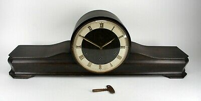 Beautiful Large Junghans Meister Westminster Chime Shelf Mantle Clock