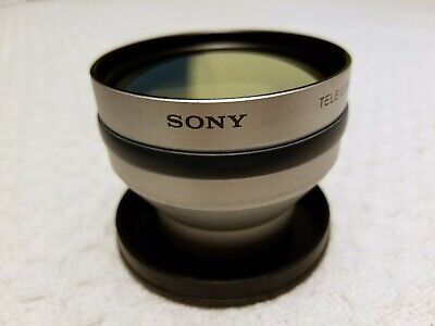 37 MM Sony VCL-DH1730 Tele Conversion Lens - Pre-Owned - Very Good Condition