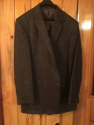 Sewell Mens Western Jacket Suit Coat Made In America USA Dress Formal 44 Tall