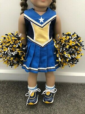 American Girl Doll cheerleading costume