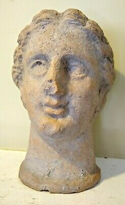 Large Etruscan Style Votive Head - ITALY - Circa 3rd/4th Century BC