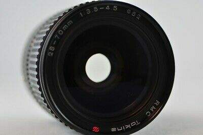 [Used] RMC Tokina 28-70mm f/3.5-4.5 Zoom Manual Lens for Canon-FD