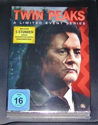 Twin Peaks A Limited Event Series Limitierte Special Edition 10 Dvd Set Neu Ovp