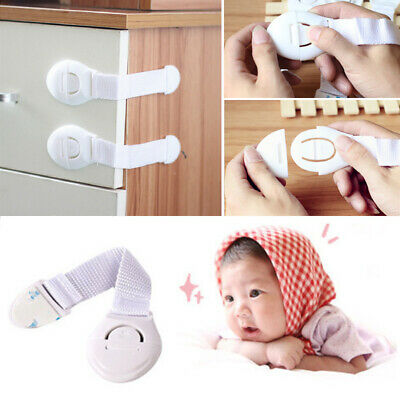 Baby Kids Safety Locks Padlock Safe Protection Security Blocker Home Drawer Door