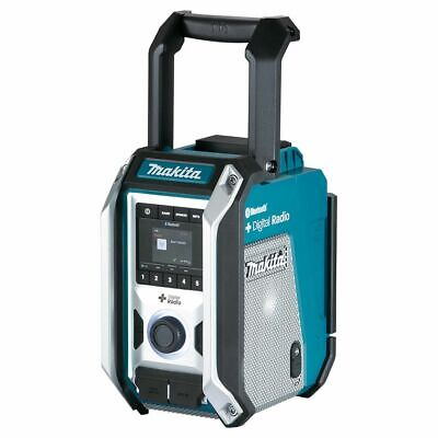 Makita DIGITAL BLUETOOTH JOBSITE RADIO DMR115 18V 2-Speaker Stereo, Skin Only