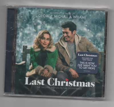 Last Christmas Original Motion Picture Soundtrack CD George Michael and Wham
