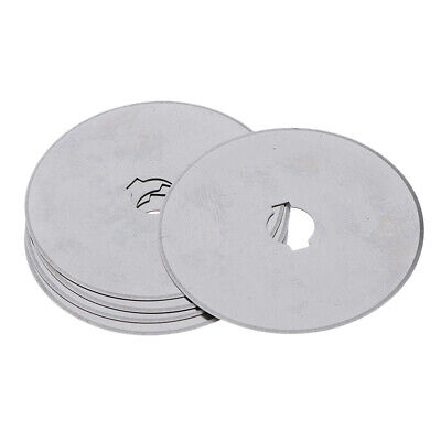 5pcs Rotary Cutter Blades Quilters Sewing Patchwork Fabric Spare Blade 45mm