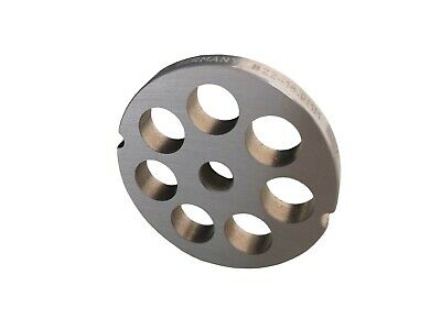 Hole Disc with 2 Groove for Meat Grinders Sizes 22 with Allen Holes