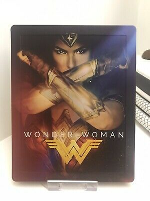 Wonder Woman • Steelbook • Bluray 2D+3D • HMV Exclusive • Audio Ita (2D)