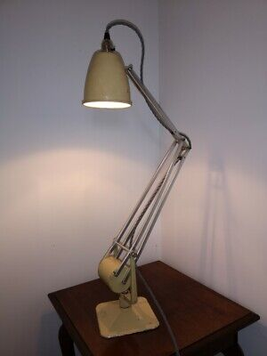Early Hadrill & Horstmann Counterpoise industrial Worklamp, original paint.
