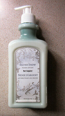 Pier 1 Imports Hand Lotion Silver Snow 18oz New Hard to Find-Discontinued