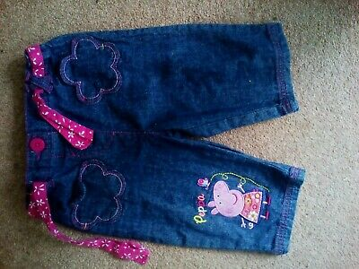 George Girls Peppa Pig Short Trousers age 2-3 years