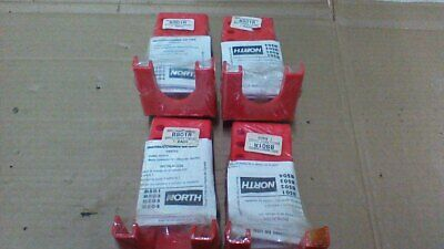 """(4) North  Bso1R Safety Lockout Attachments For Ball Valves 3/8"""" To 1 1/4"""" Size"""